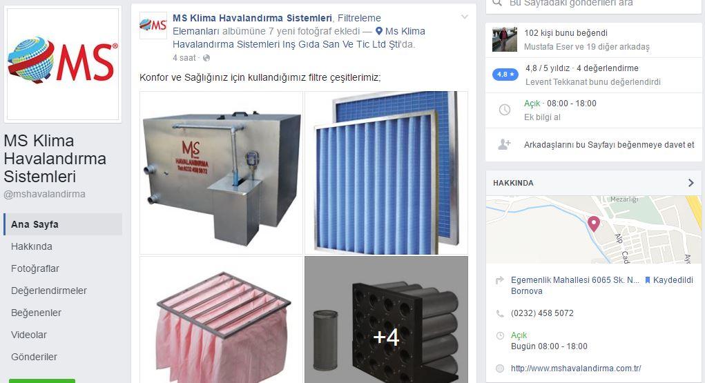 Resmi Facebook Sayfamız